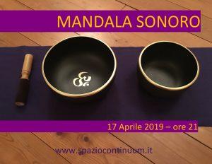 Mandala Sonoro con Campane Tibetane Armoniche @ Spazio Continuum